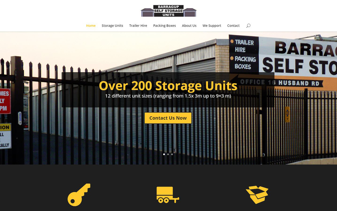 Barragup Self Storage Website