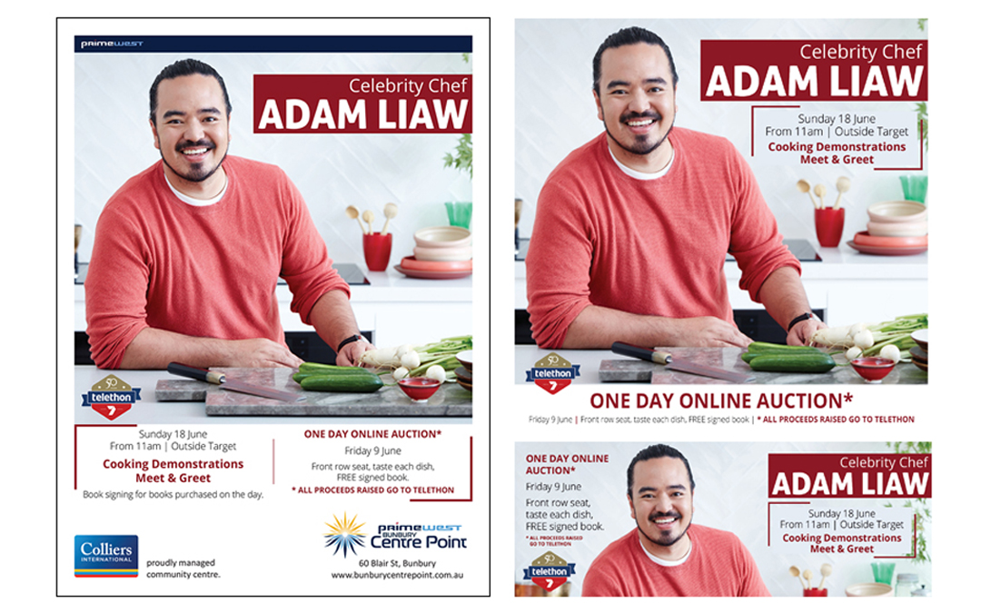 Celebrity Chef Adam Liaw