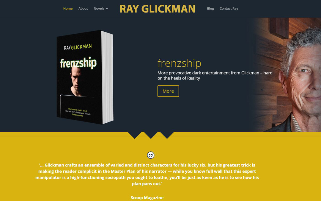 Ray Glickman Website