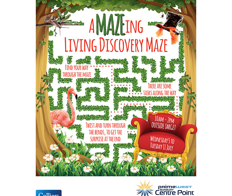 CentrePoint Mall Card aMAZEing Living Discovery