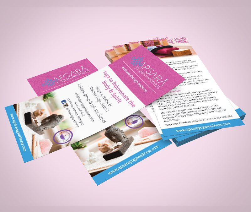 Apsara Yoga and Wellness Flyer