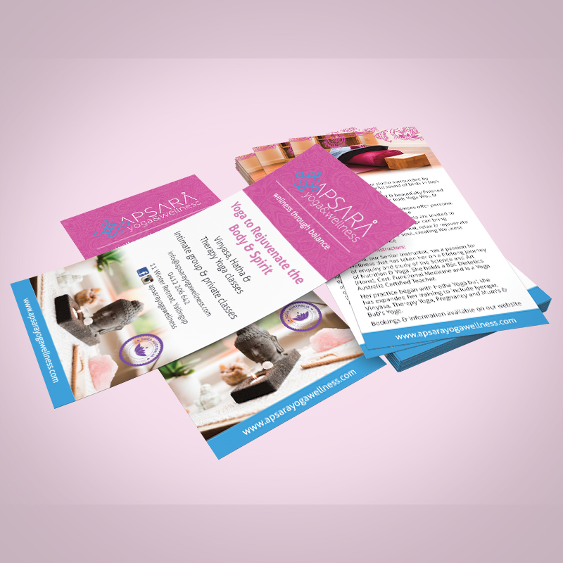 Apsara Yoga & Wellness DL Flyer
