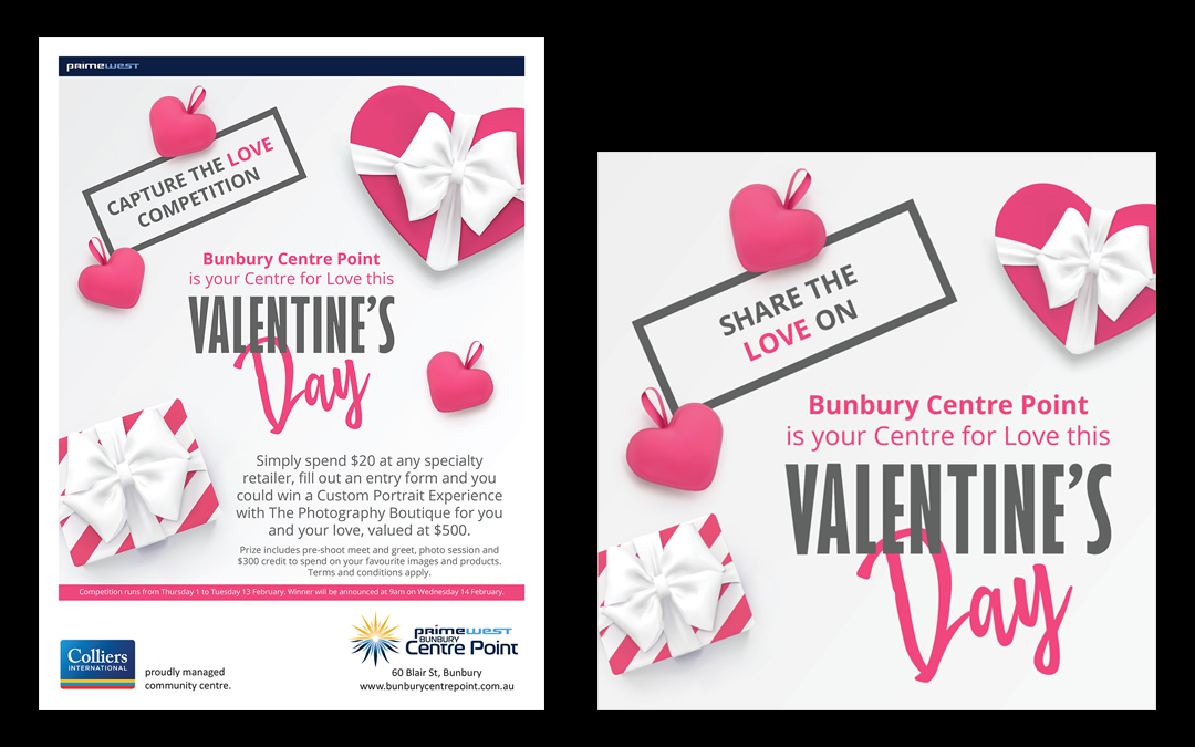 Bunbury Centre Point Valentines Day 2018