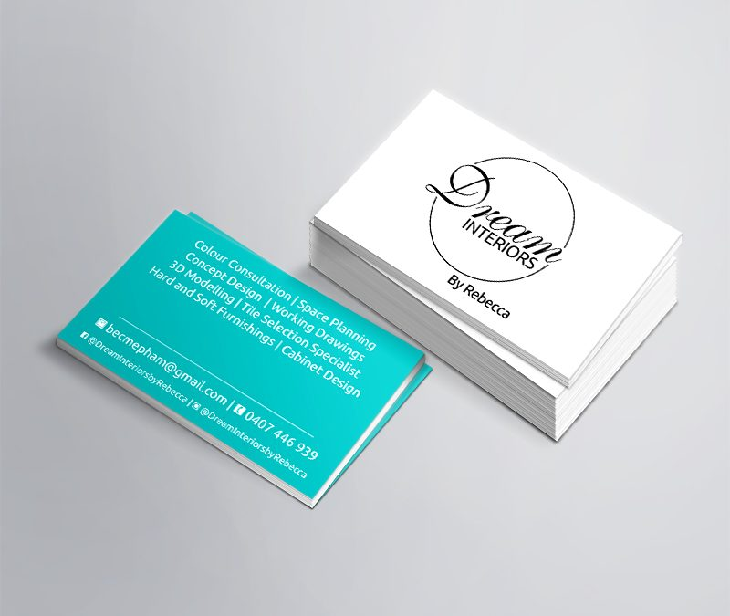 Dream Interiors by Rebecca Business Cards