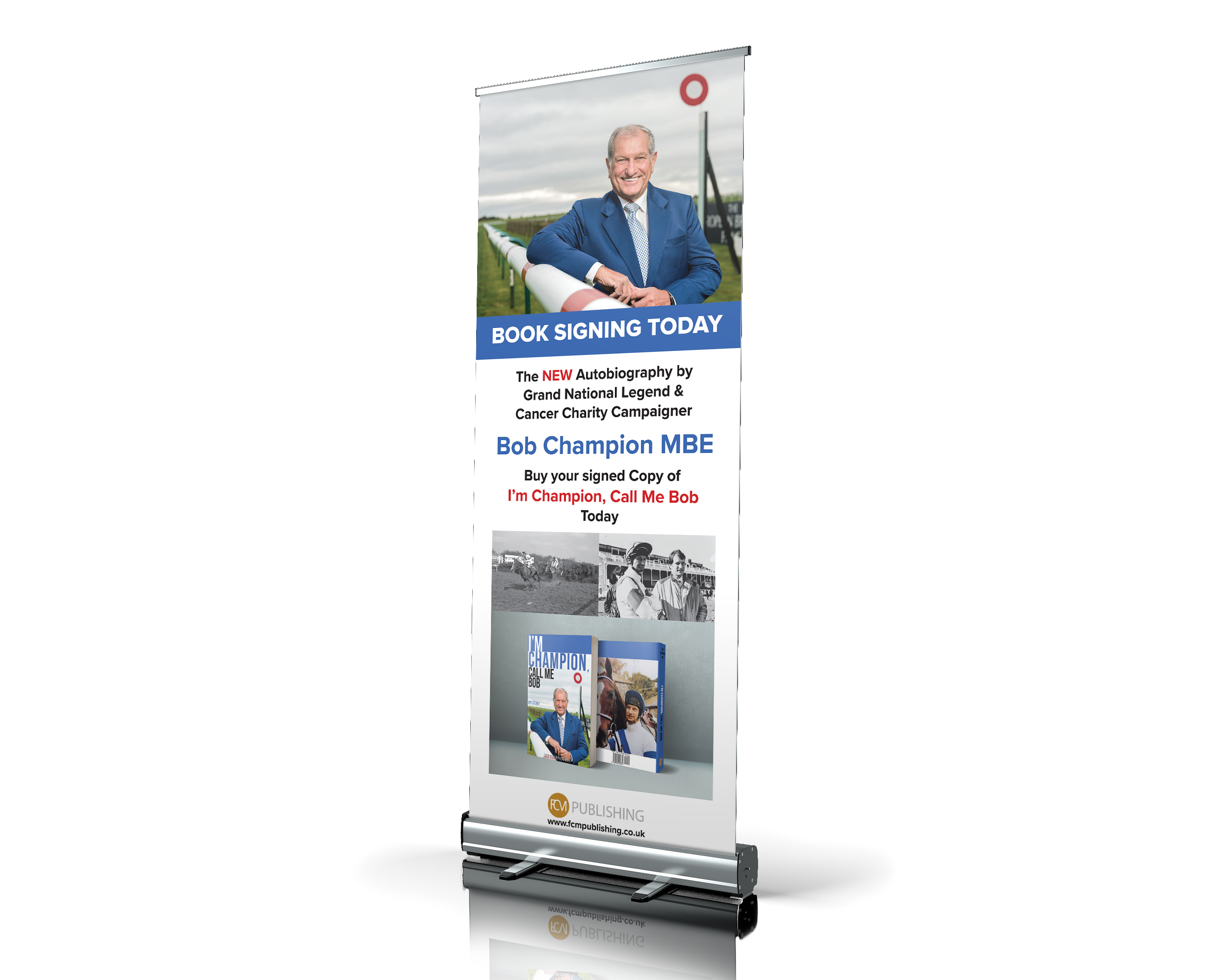 FCM Publishing - Bob Champion - Banner