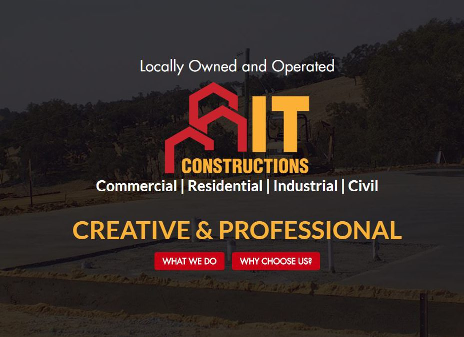IT Constructions Website