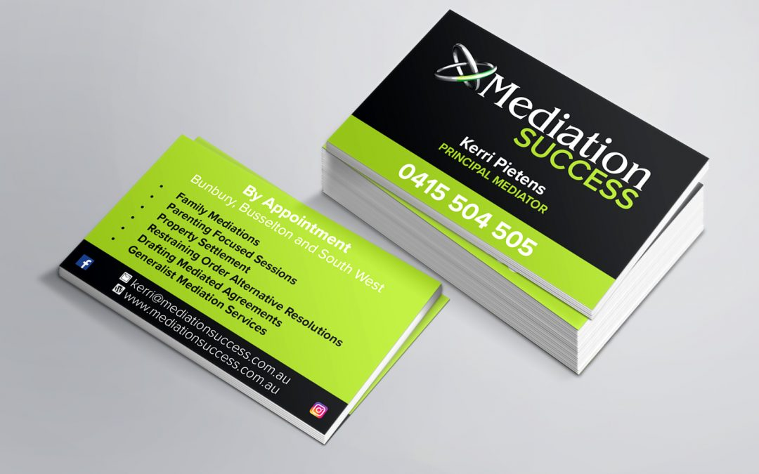 Mediation Success Business Cards