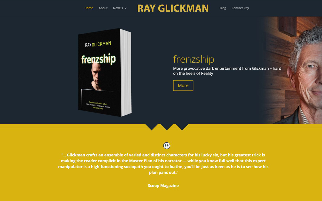 Ray Glickman Author