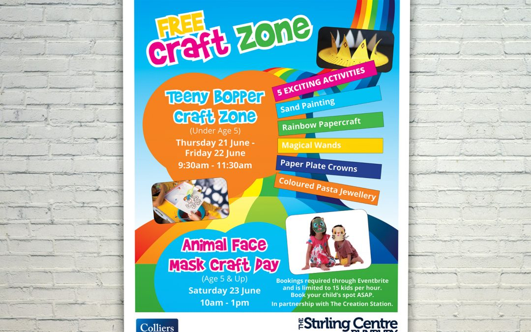 The Stirling Centre Free Craft Zone