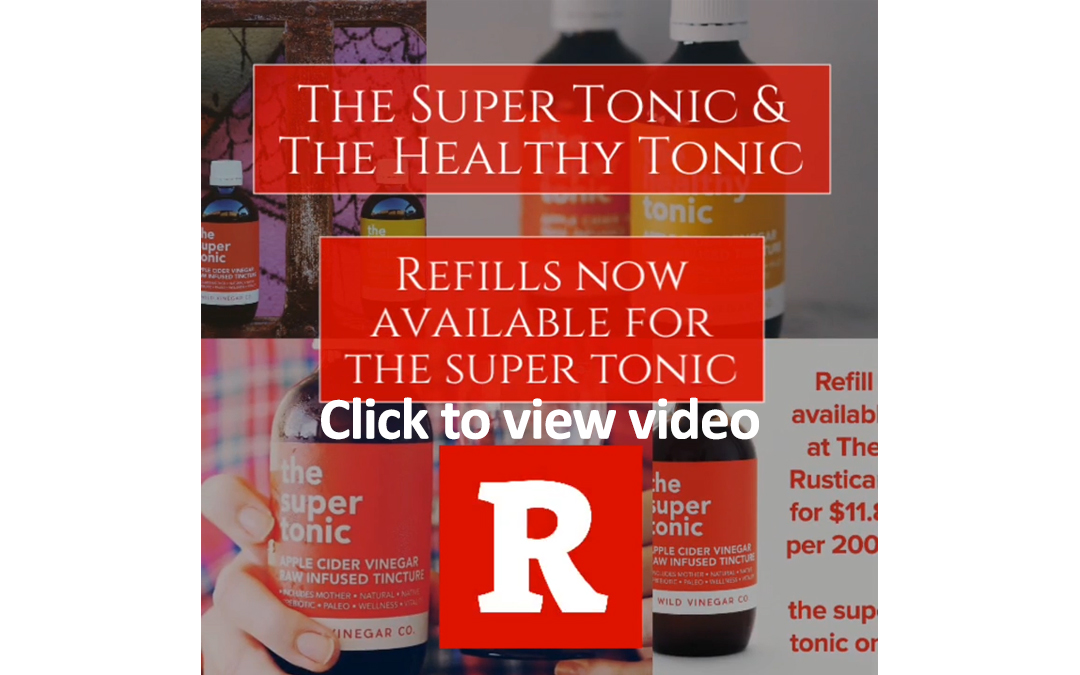 The Rusticana Super Tonic
