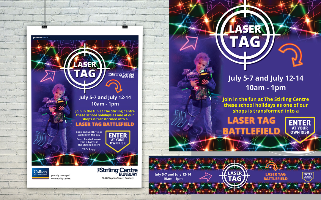 Laser Tag at The Stirling Centre