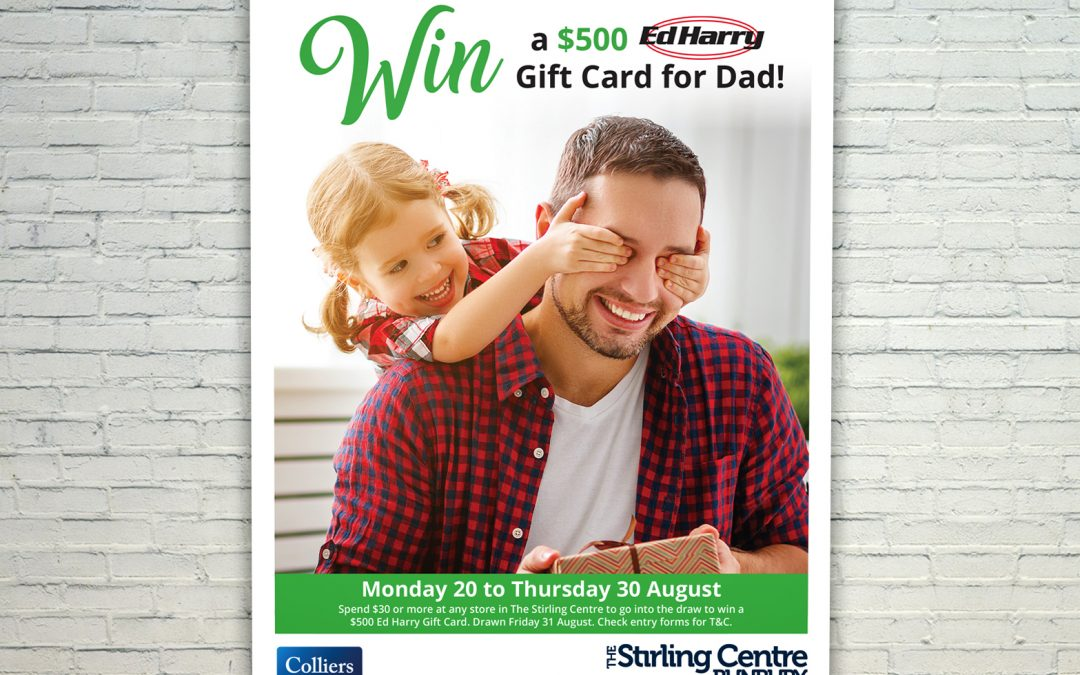 The Stirling Centre | Mall Card | Fathers Day