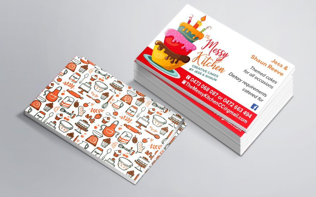 The Messy Kitchen | Business Cards