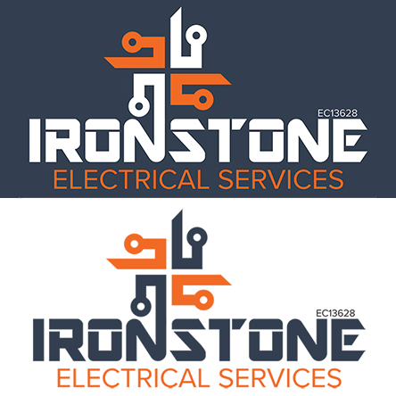 Ironstone Electrical Services Logo Draft 1b