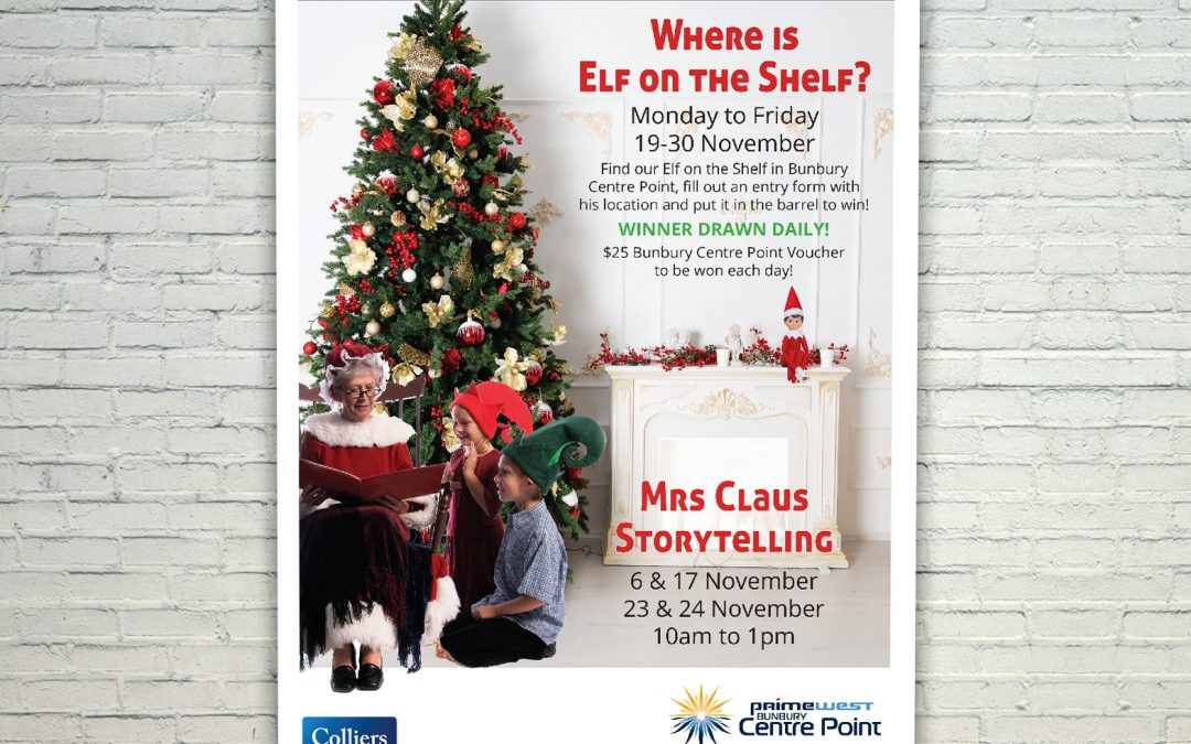 Elf on the Shelf and Mrs Claus Storytelling