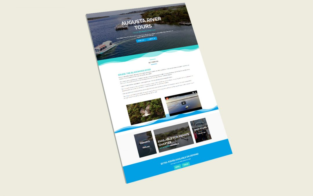 Augusta River Tours Website