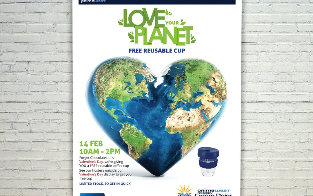Love Your Planet Mall Card