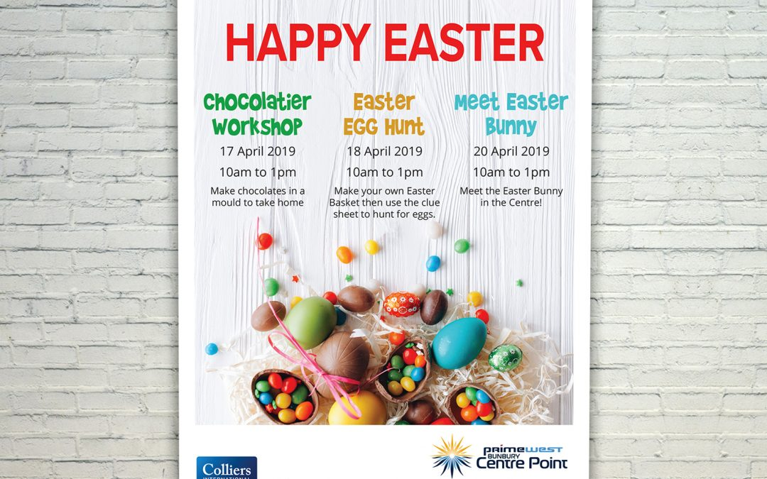 Easter Mall Card for Bunbury Centre Point
