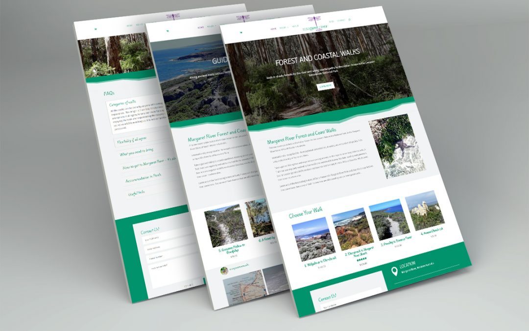 Margaret River Walks eCommerce Website