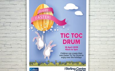 Easter Mall Card for The Stirling Centre