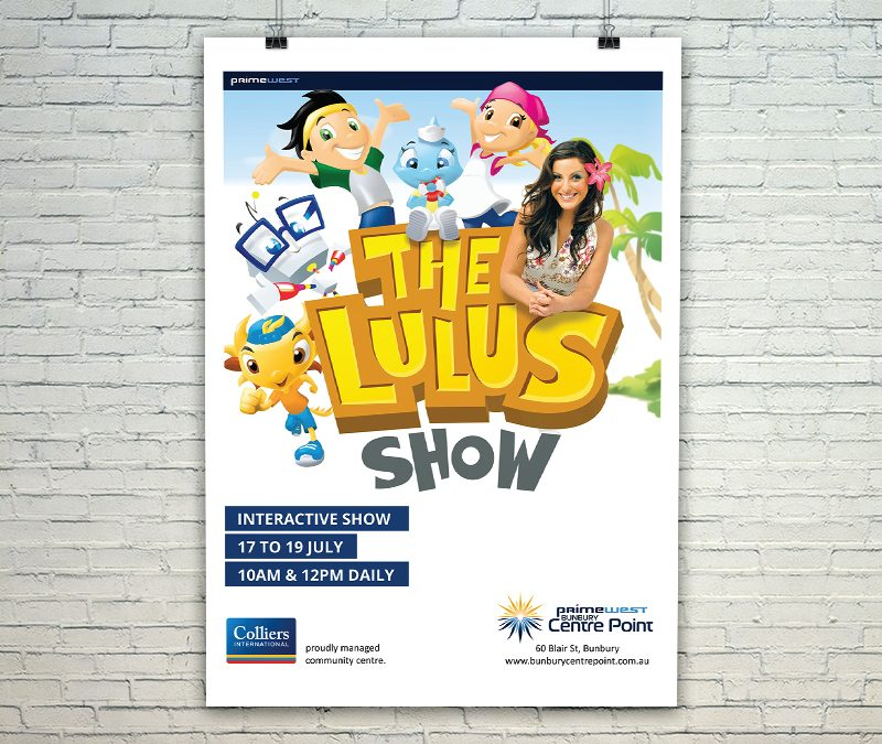 Bunbury Centre Point - The Lulu's - Web and Print Hub
