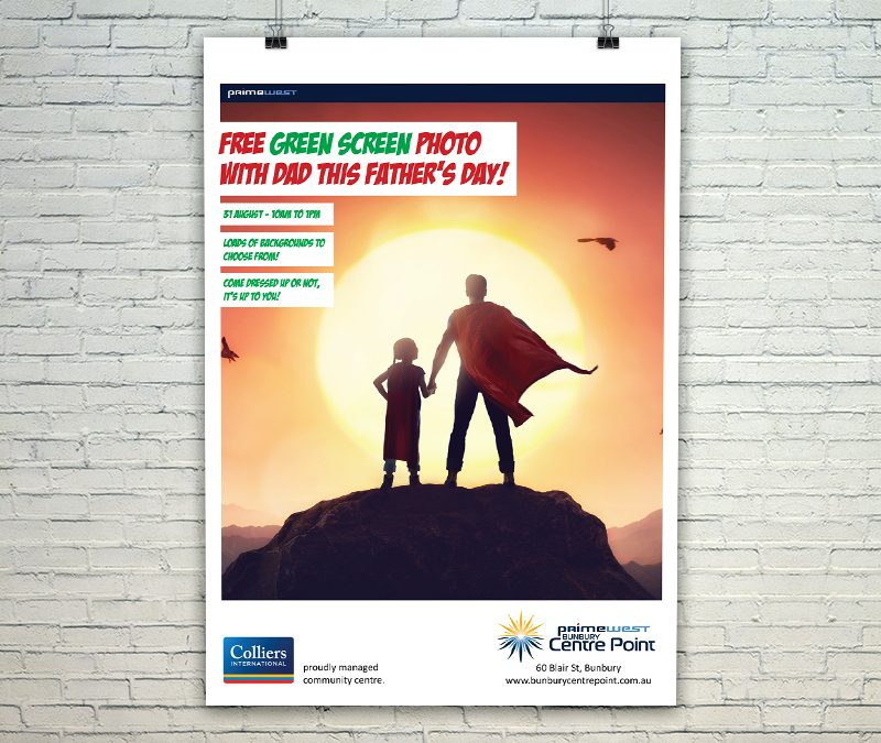 Bunbury Centre Point Mall Card for Father's Day 2019