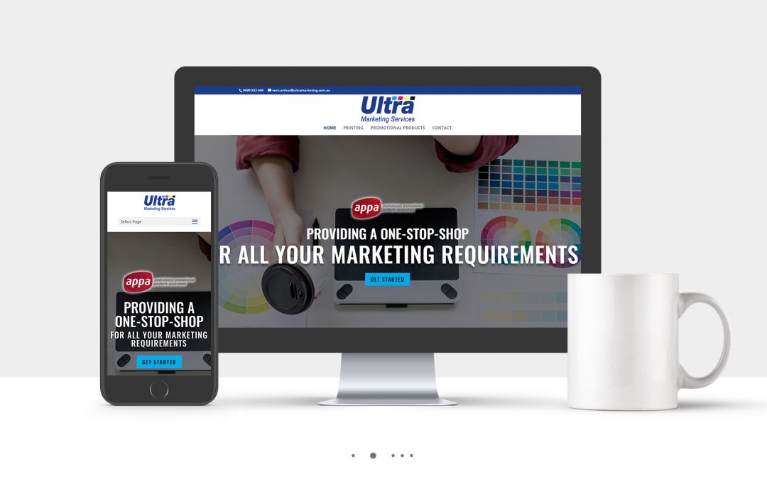 Ultra Marketing Website