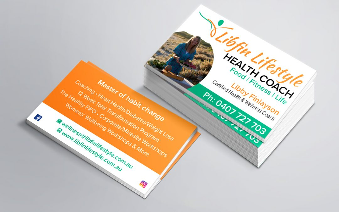 Libfin Lifestyle Business Cards