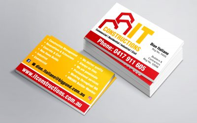 IT Constructions Business Cards