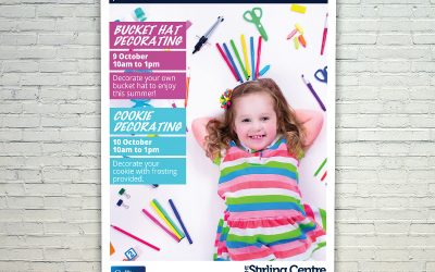 The Stirling Centre Mall Card for October School Holidays
