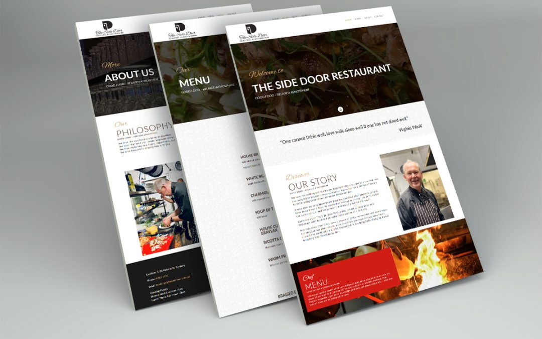 The Side Door Restaurant Website
