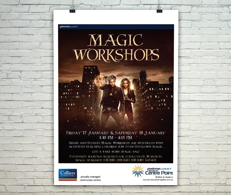 Bunbury Centre Point Mall Card - Magic Workshops