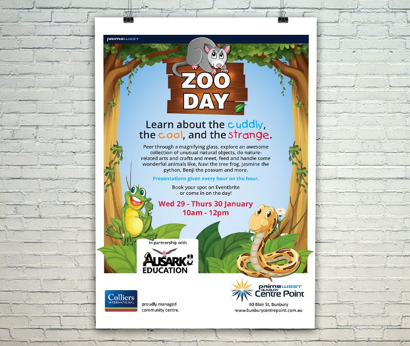 Zoo Day Mall Card
