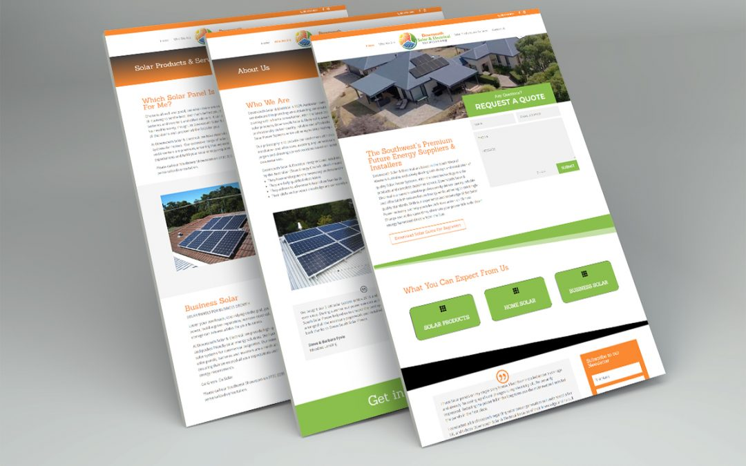Downsouth Solar & Electrical Website