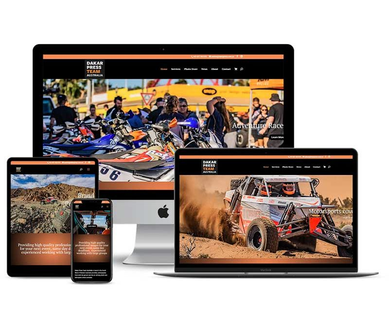 Dakar Press Australia Website