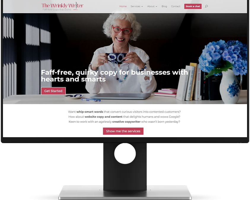 The Wrinkly Writer Website