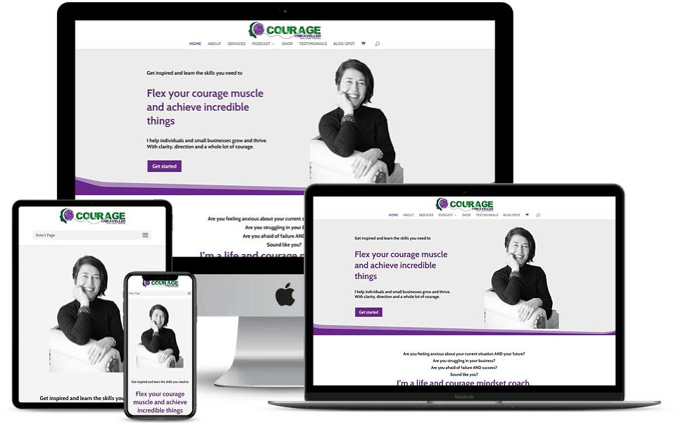 Courage Unravelled Website