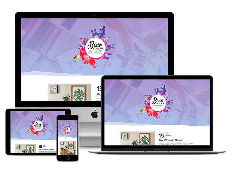 Bene Colour Website